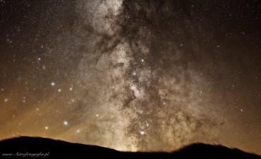 75% populacji nie widziało i nie zobaczy Drogi Mlecznej….