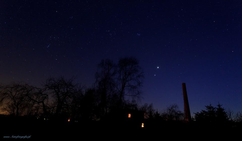 Piękna noc pod gwiazdami…
