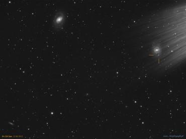 M95 – kosmiczna śmierć w galaktyce obok..