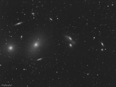 M84 – M86 – Łańcuch Markariana (fragment)