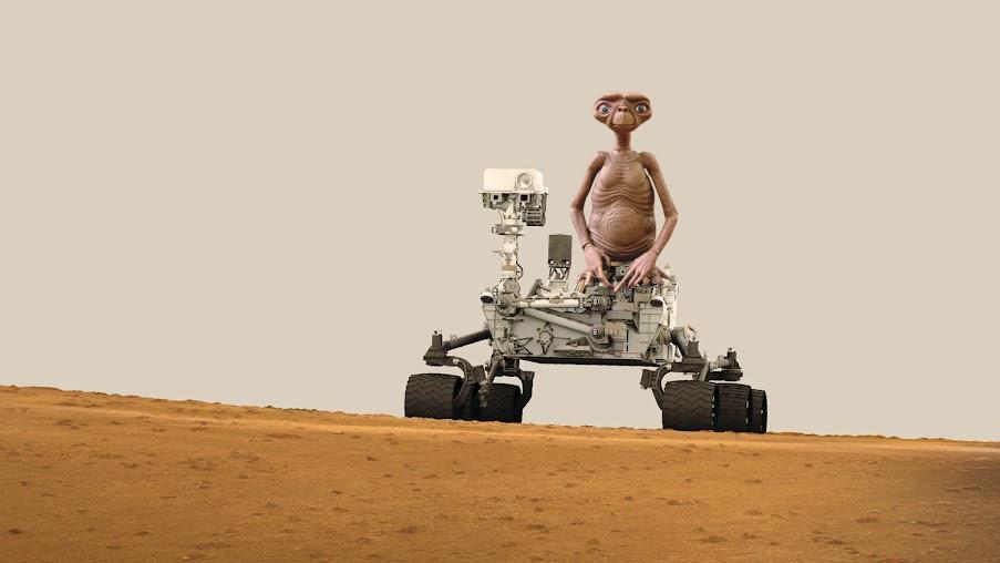 Co na Marsie odkrył łazik Curiosity