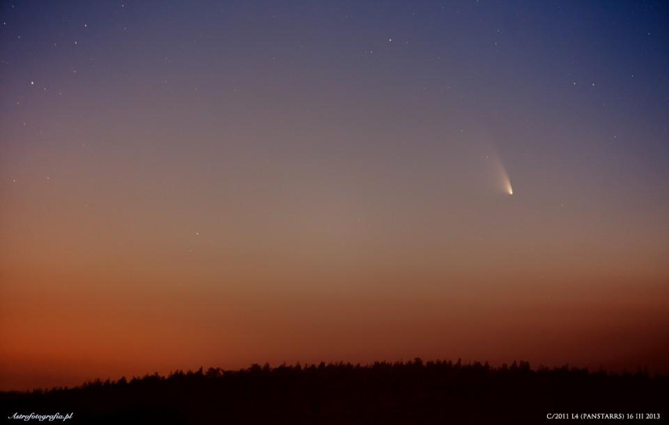 Kometa C/2011 L4 PANSTARRS – dzień trzeci!
