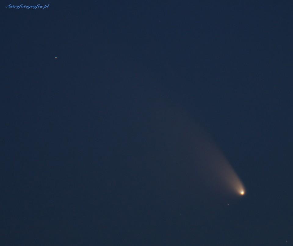 Kometa C/2011 L4 PANSTARRS jak ją znaleźć w najbliższe dni