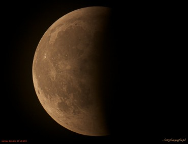 W najbliższy czwartek częściowe zaćmienie Księżyca