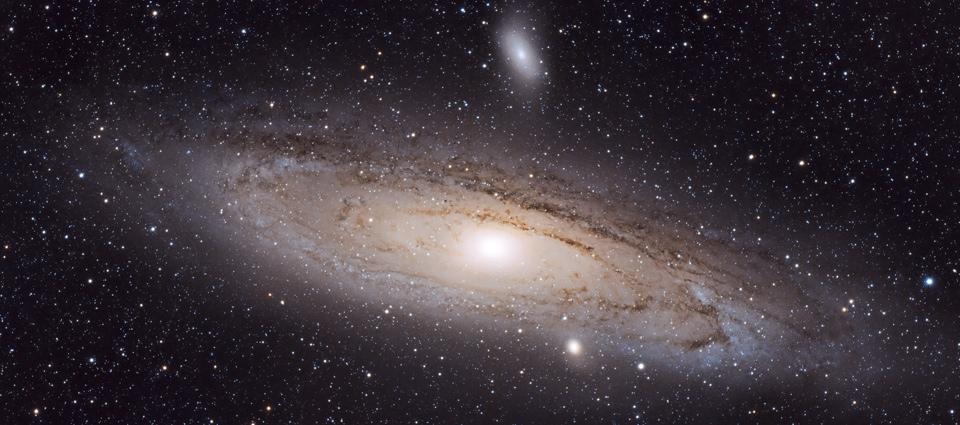 M31, M32, M110 – Wielka galaktyka Andromedy