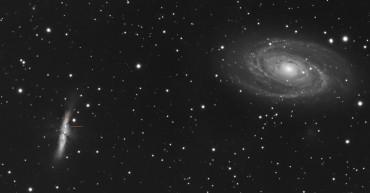 Supernowa w galaktyce M82