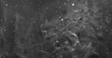 IC405 – Mgławica płonąca gwiazda