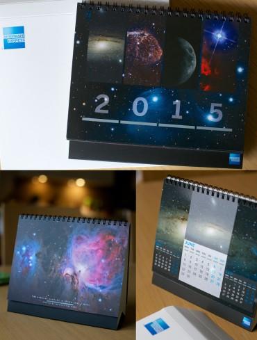American Express – kalendarz na rok 2015!
