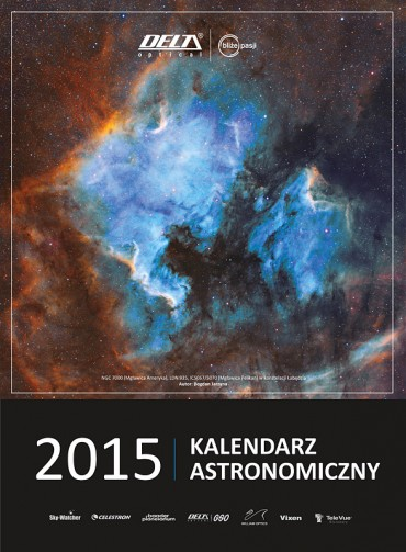 Kalendarz Delta Optical 2015