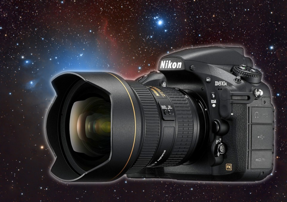Nikona D810A – na niebie rozbłysła nowa gwiazda dla astrofotografów!