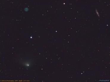 Kometa C/2014 S2 Panstarrs w pobliżu M98/M108