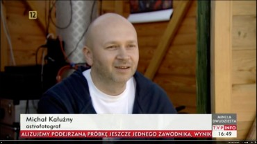 Astrofotografia.pl w TVP Info