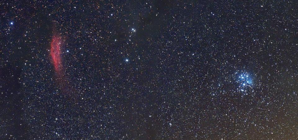 M45 + California – nadchodzi jesień