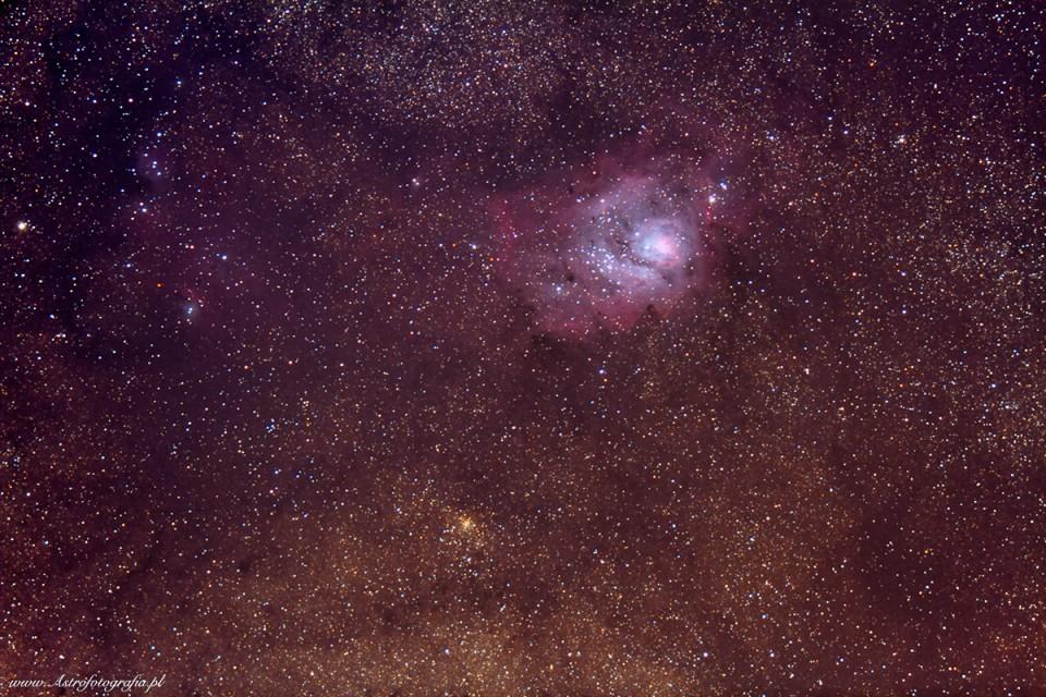 M8 + NGC6523