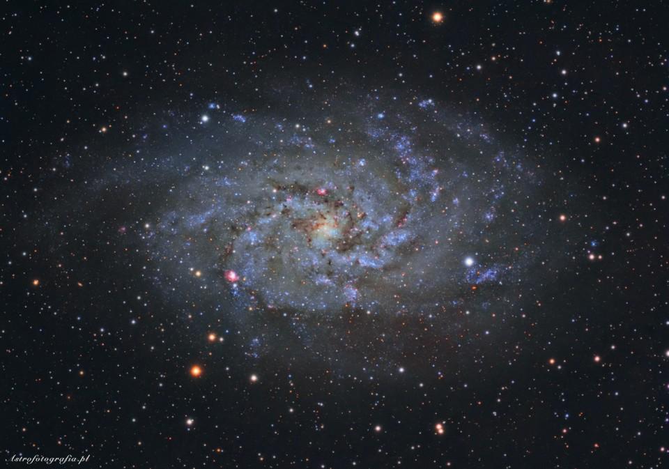 M33 – galaktyk Trójkąta
