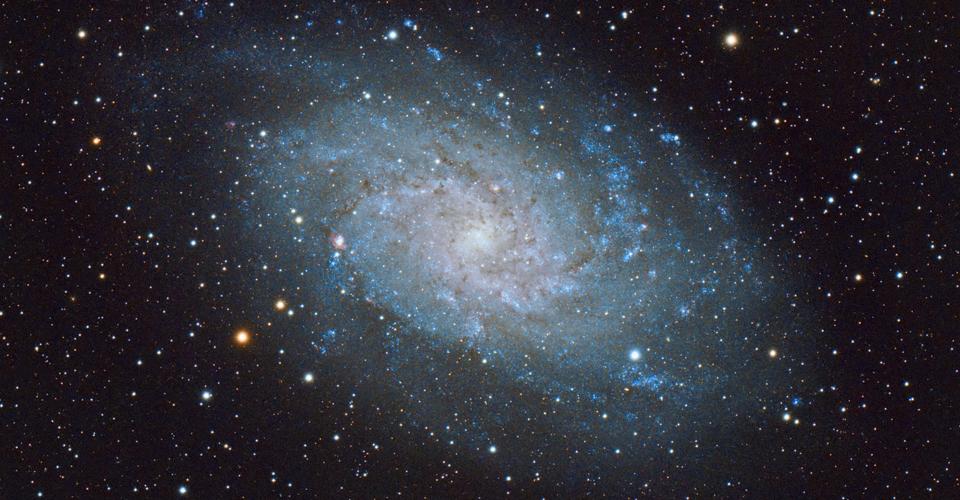M33 – galaktyka w Trójkącie