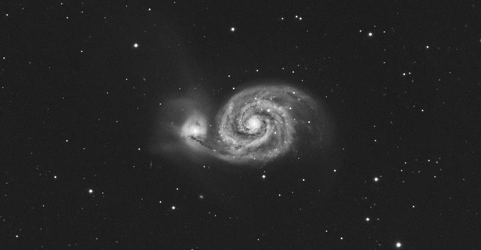 M51 – galaktyka Wirowa