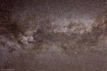 Droga Mleczna gwiazdozbiór Łabędzia