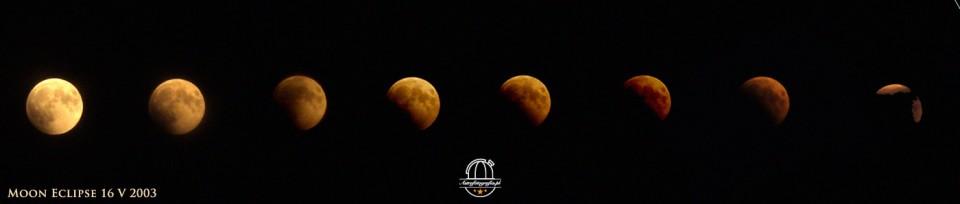 Zaćmienie Księżyca 16 V 2003