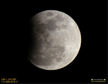 Częściowe zaćmienie Księżyca z 7 września 2006 roku