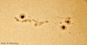 Słońce projekcje okularowe – 2001