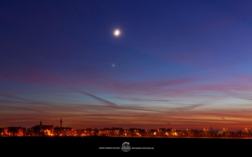 Księżyc zatańczył z Wenus