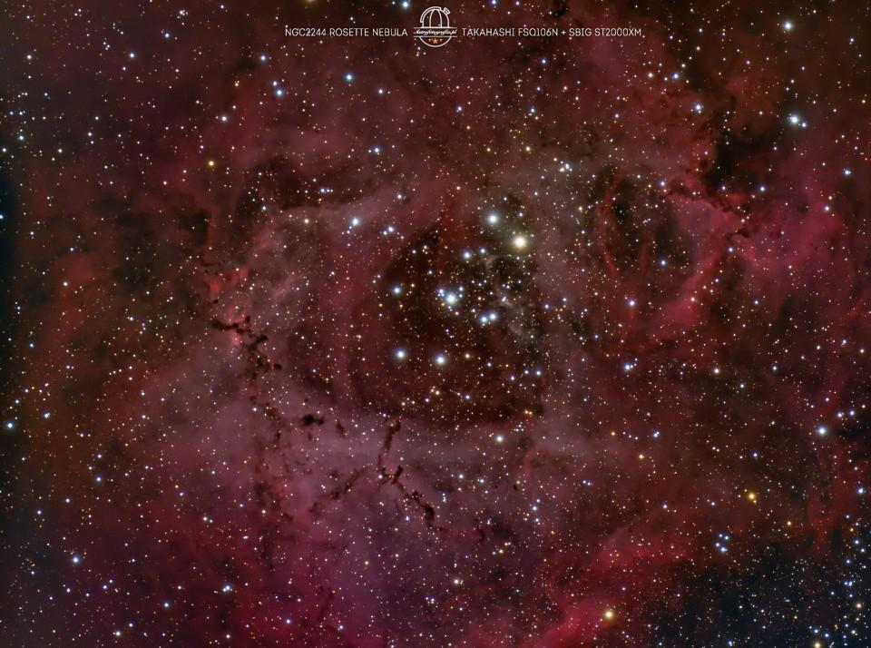 Mgławica Rozeta NGC2244