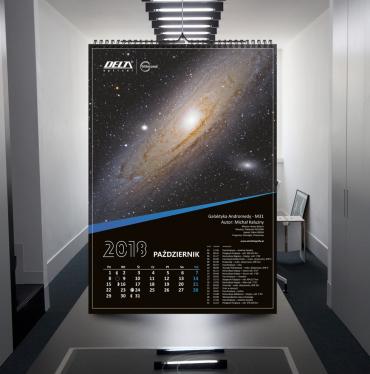 Astrofotografia.pl w kalendarzu DeltaOptical na 2018 rok!