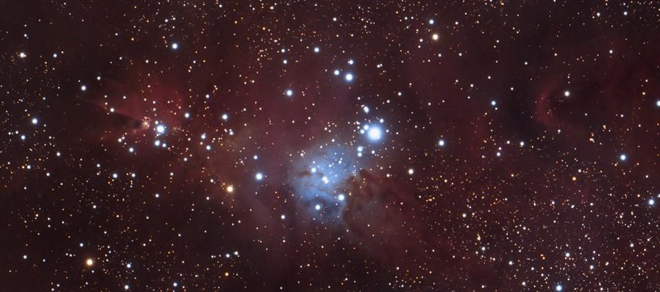 Mgławica NGC2264 – kolebka dla nowo narodzonych gwiazd