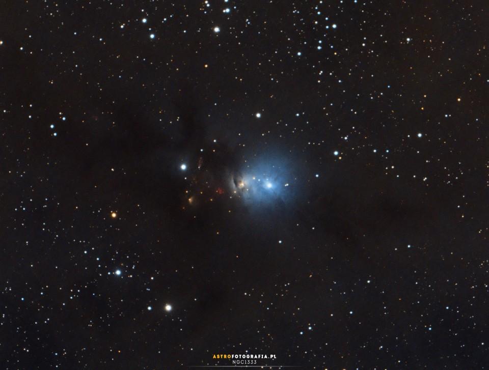 NGC1333 – młode gwiazdy rozświetlają Perseusza