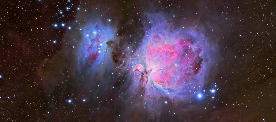 Wielka mgławica w Orionie – M42