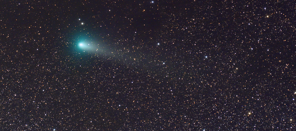 Kometa 21P/Giacobini-Zinner 11 VIII 2018