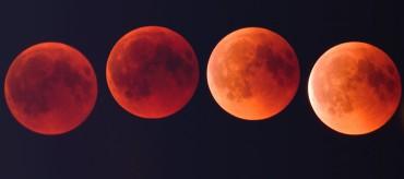 Zaćmienie Księżyca 27/28 VII 2018