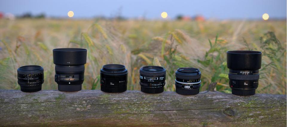 Mini test obiektywów 50 mm w astrofotografii