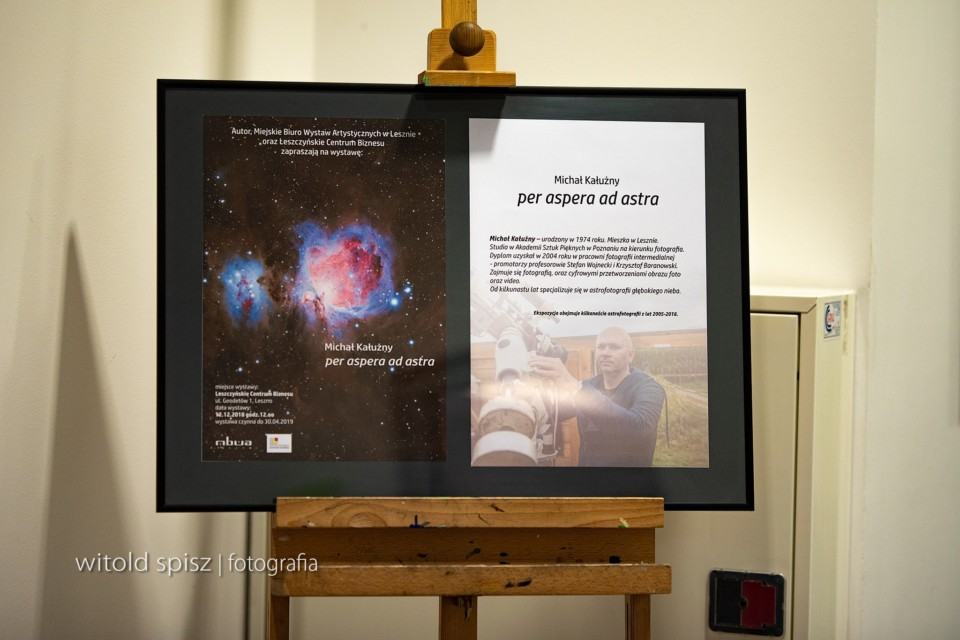 Otwarcie wystawy Per aspera ad astra – Leszczyńskie Centrum Biznesu