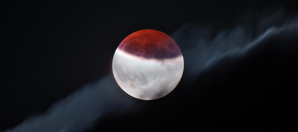 Zaćmienie Księżyca 16 VII 2019
