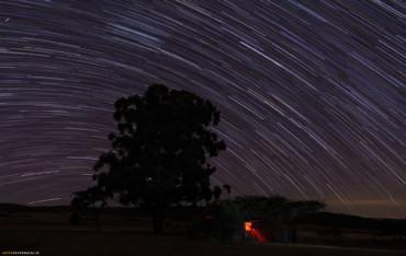 Akademia Astrofotografii – startrails – ślady gwiazd!