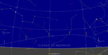 ALARM: nowa jasna kometa C/2020 F3 Neowise